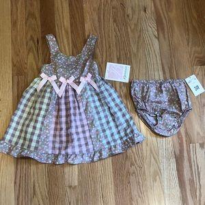 🆕 Bonnie Jean Baby Dress 24M